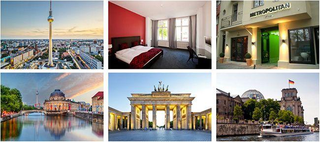 Metropolitan Hotel Berlin Flugreise nach Berlin + ÜN im 3* Hotel + Frühstück ab 79€ p.P.   Knaller?