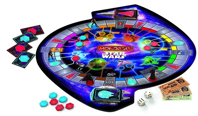 Monopoly Star Wars Monopoly Star Wars Erwachen der Macht für 27,94€ (statt 35€)