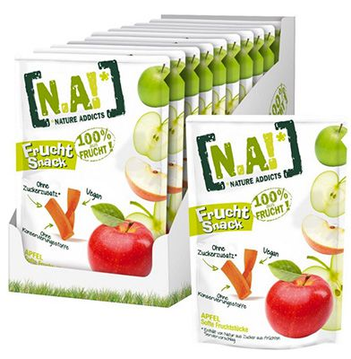 Preisfehler? 30er Pack N.A! Frucht Snack Apfel ab 9,59€ (statt 35€)