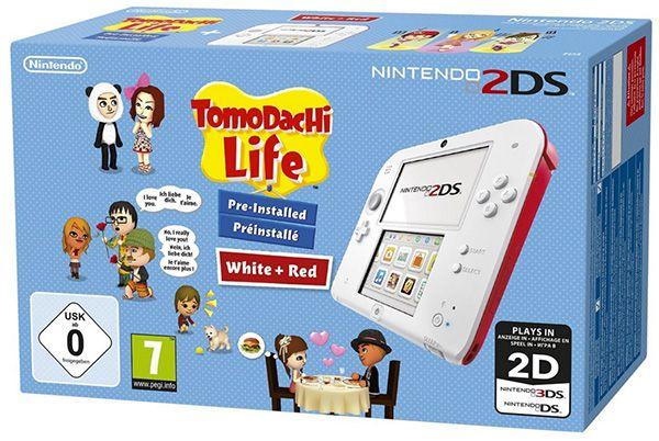 Nintendo 2DS Konsole + Tomodachi Life für 69,74€ (statt 85€)