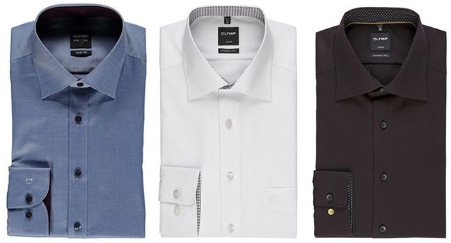 Olymp Hemden 2 Olymp Herren Hemden für 90€ (statt 100€) + gratis Krawatte (Wert 30€)