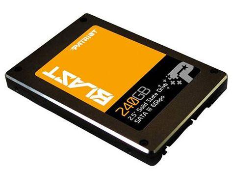 Patriot Blast 240GB Patriot Blast 240GB SSD für 72,42€ (statt 80€)