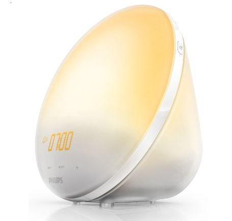 Philips HF3510   Wake up Light mit Sonnenaufgangsfunktion für 69,99€ (statt 88€)