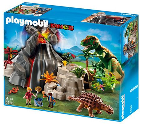 Playmobil T Rex und Saichania beim Vulkan ab 29,99€ (statt 40€)