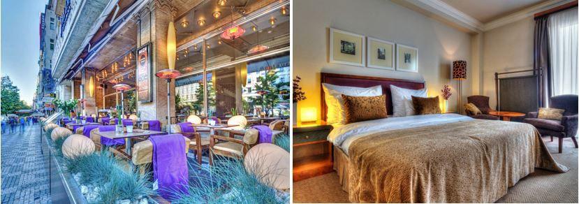 Prag 5* Boutique Hotel Jalta in Prag   1 bis 4 Übernachtungen ab 49€ p.P. Nacht