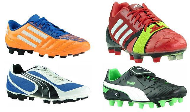 Puma Fußballschuhe ab 8,99€ oder adidas Fußballschuhe ab 12,99€