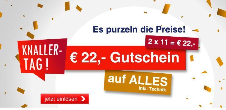 Quelle.de bis Mitternacht mit 22€ Sofort Rabatt ab 100€