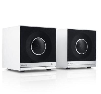 Teufel Raumfeld Cubes   Stereo HiFi Streaming mit App Steuerung im Set für 354€
