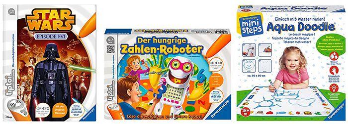 Ravensburger 15% Rabatt auf Ravensburger Spiele bei myToys + gratis Puzzle