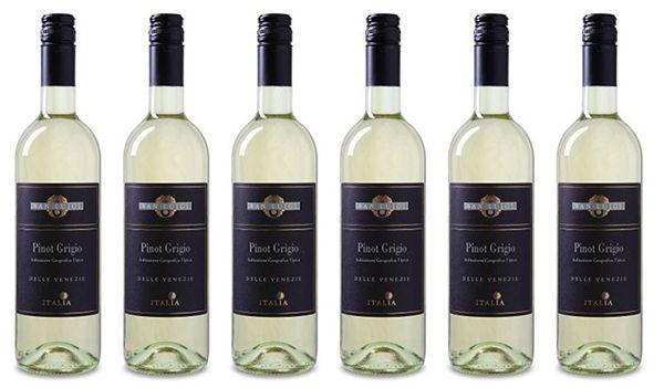 6 Flaschen San Luigi Pinot Grigio Weißwein für 28,89€