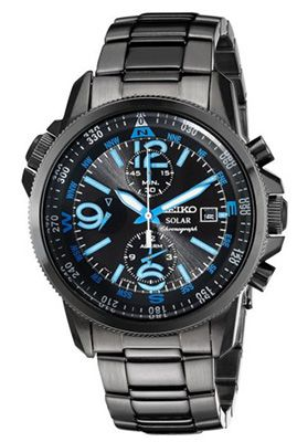 Seiko SSC079 Solar Seiko SSC079 Solar Herren Armbanduhr für 199€ (statt 270€)