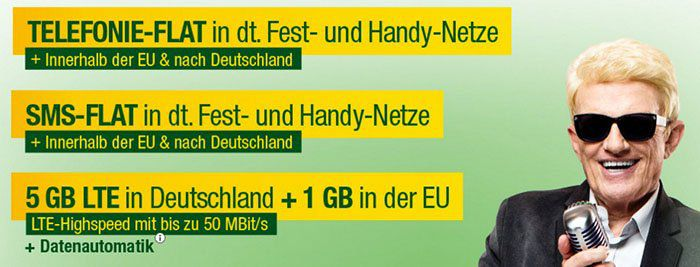 Smartmobil o2 Allnet Tarif mit 5GB LTE + EU Leistungen für 24,99€ pro Monat