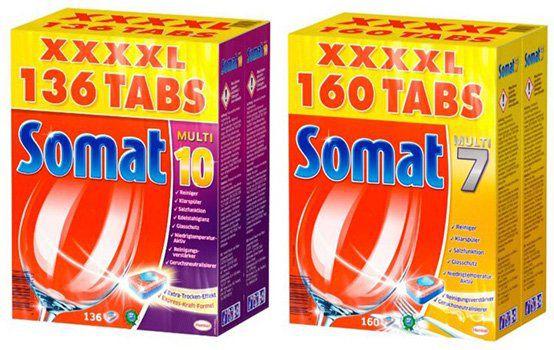 160 Somat 7 Tabs ab 17,95€ oder 136 Somat 10 Tabs ab 17,33€