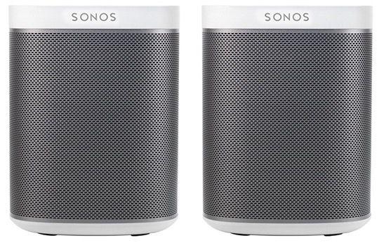 Sonos Play 1 Duo Pack (2 Stück!) für 370,90€ (statt 419€)