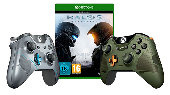 Spartan Locke Controller Preisfehler? Halo 5 (Xbox One) + Spartan Locke Controller für 64,99€ (statt 104€)