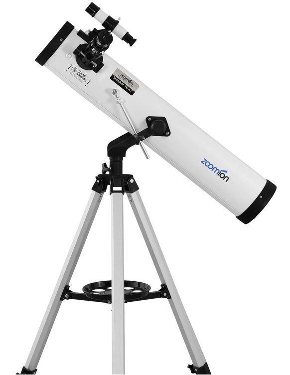 Zoomion Teleskop Stardust 76 AZ, Spiegelteleskop mit 700mm Brennweite für nur 44,90€