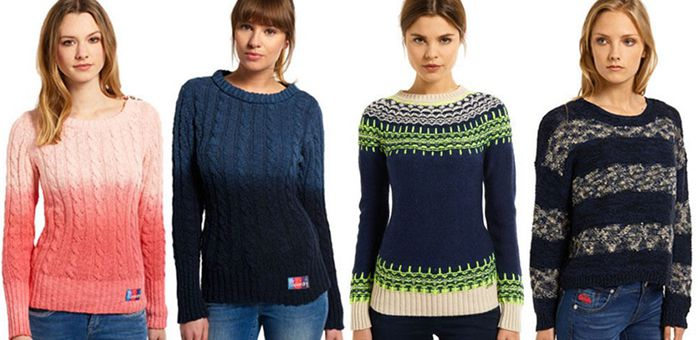 Superdry Damen Pullover Superdry Damen Pullover für je 18,95€
