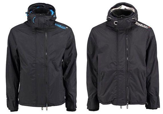 Superdry Pop Zip Hood Arctic Windjacke ab 63,85€ (statt 110€)