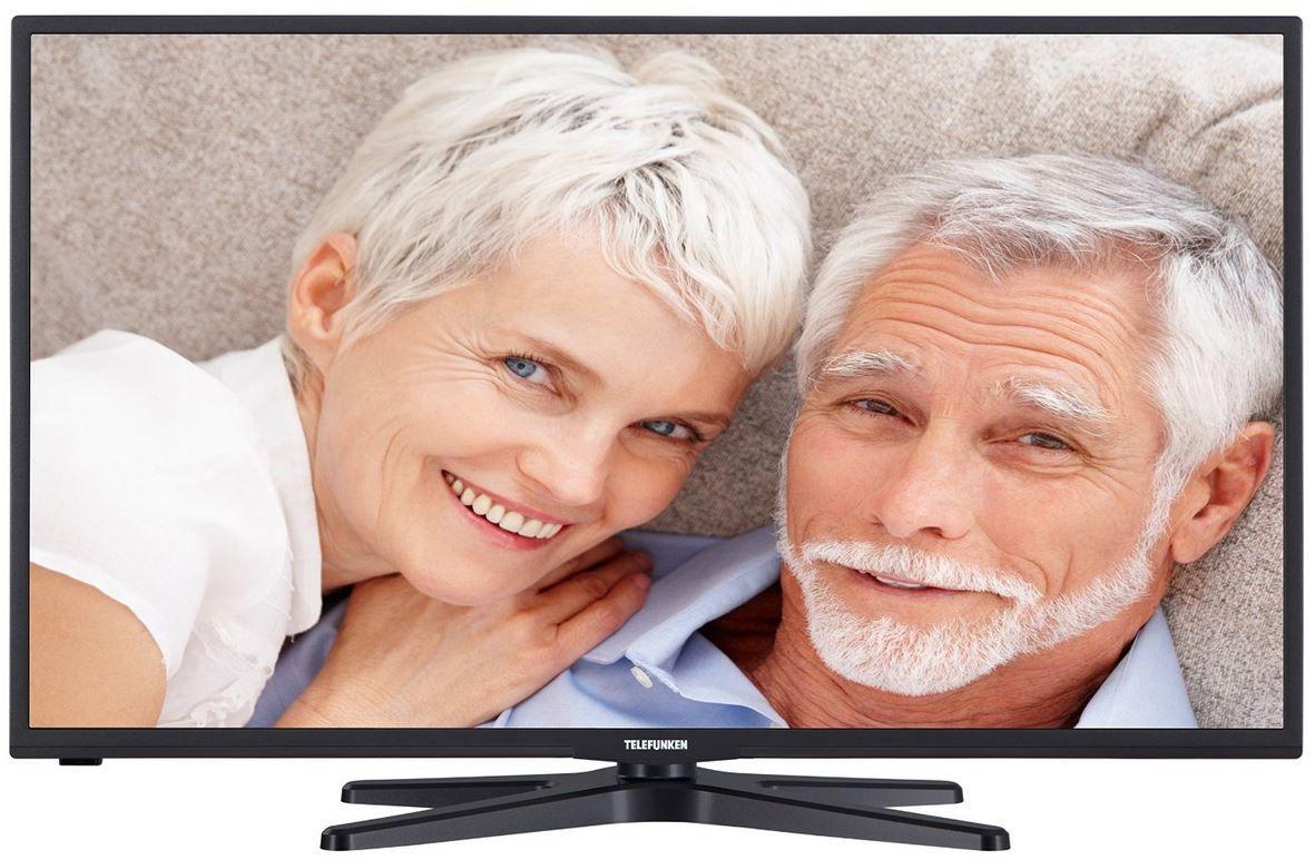 Telefunken D39F272I3   39 Zoll Senioren TV mit triple Tuner und Sonderfunktionen für 239,99€
