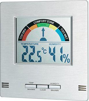 Thermo  und Hygrometer mit Komfortanzeige für 14,99€ (statt 28€)