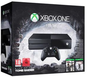 Xbox One 1TB + Rise of the Tomb Raider für 323,44€ (statt 351€)   nur Neukunden