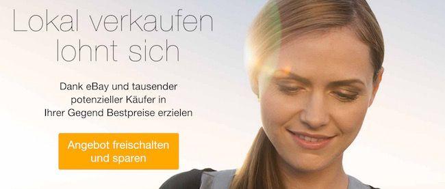 Verkaufsprovision Max. 1€ Verkaufsprovision für Artikel zur Abholung bei eBay