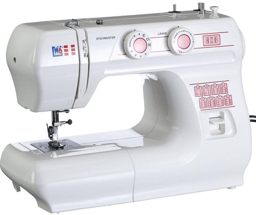 W6 N 1615   Nutzstich Nähmaschine mit 10 Jahren Garantie für 109€