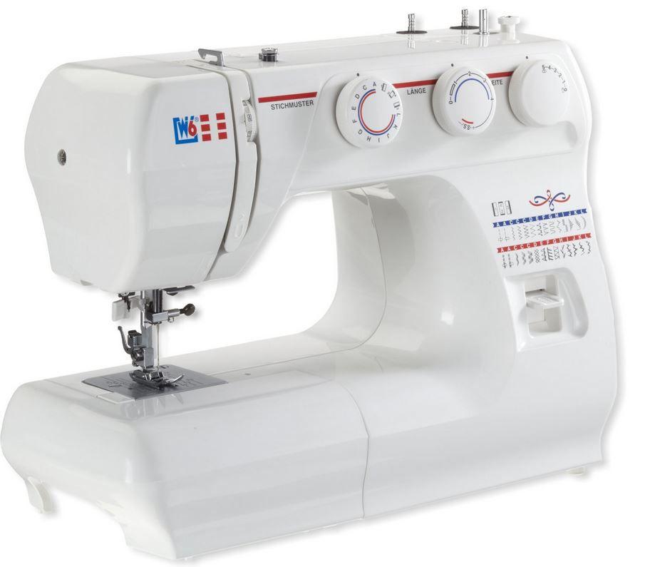 W6 Nutzstich Nähmaschine mit 10 Jahren Garantie für 129€