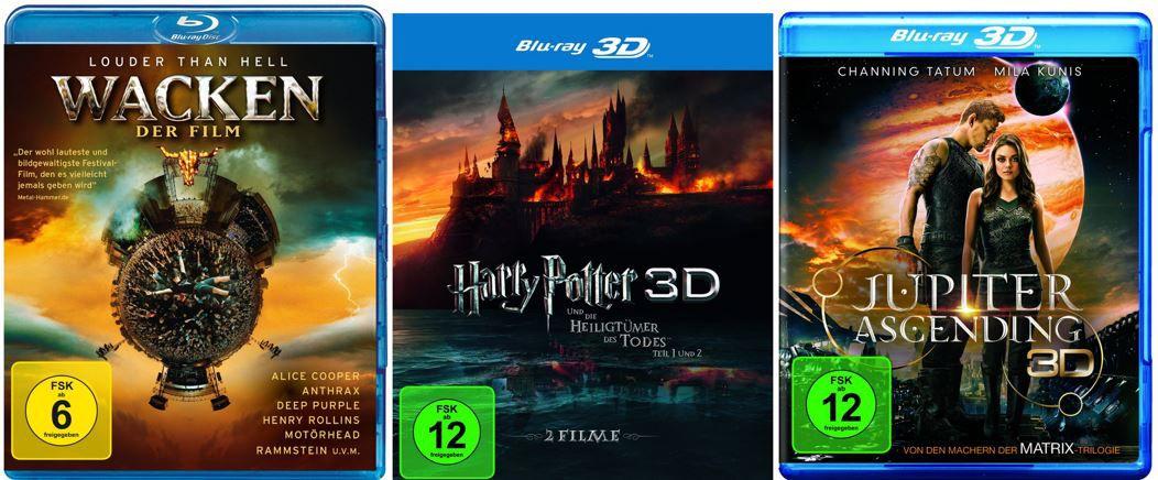 10 Blu rays für 50€ oder auch 3D Filme reduziert bei den Amazon DVD und Blu ray Aktionen