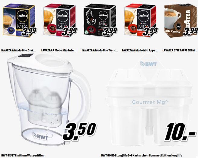 Wasserfilter Lavazza A Modo Mio Cafe   16 Kapseln ab 3,99€ und mehr Angebote in der Media Markt Tiefpreisschicht