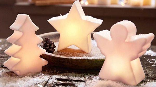 Verschiedene Weihnachtsdeko für je 14,99€   3D Stern, Kalender uvm.
