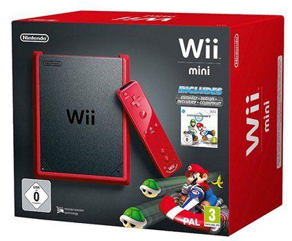 Wii mini Konsole mit Mario Kart für 82,58€ (statt 133€)   Warehousedeal!