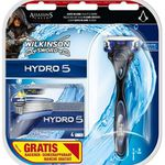 Wilkinson Sword Hydro 5 mit 5 Klingen + Assassins Creed Syndicate Content ab 7€
