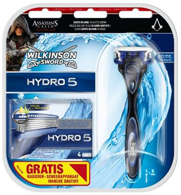 Wilkinson Sword Hydro 5 Wilkinson Sword Hydro 5 mit 5 Klingen + Assassins Creed Syndicate Content ab 7€