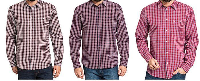 Wrangler Langarm Freizeithemden für je 21,95€