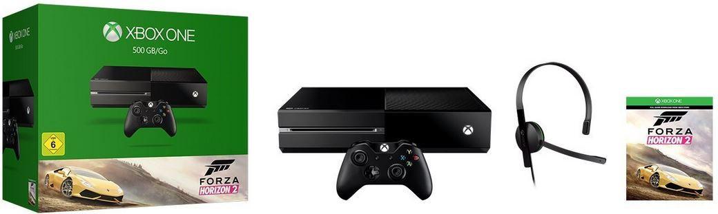 Xbox One + Forza Horizon 2 (refurbished) für 185€ (statt 268€)