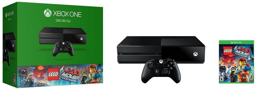Xbox one lego Xbox one 500GB + Game The LEGO Movie für 289,99€