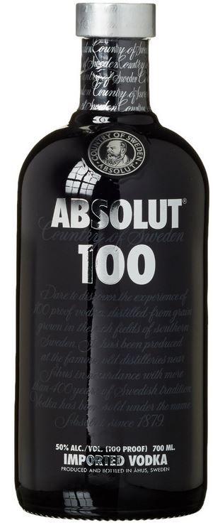 Absolut Wodka 100   50% Vol 1L ab 23,99€ (Prime)