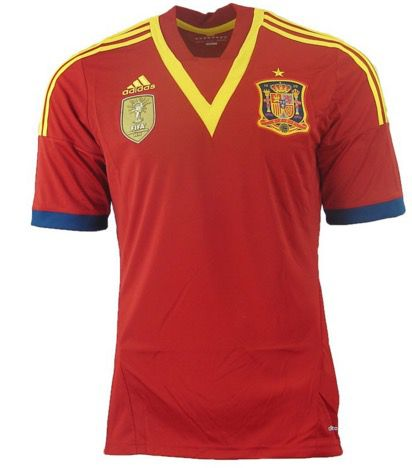 adidas Home Jersey Spanien Trikot adidas Home Jersey Spanien Trikot für 13,99€ (statt 20€)