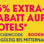ebookers mit 15% Rabatt auf Hotels weltweit nur heute