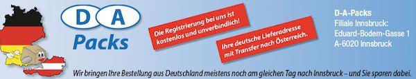 da Ratgeber: Mit D A Packs auch in Österreich bestellen und nach Deutschland liefern
