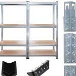 Julido – Schwerlastregal im 2er Set (160x160x40cm) für 34,95€