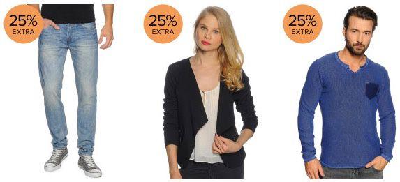 Dress for less Happy Hour mit 25% auf Alles + 15% oder 10% Gutschein
