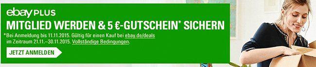 eBay Plus 1 Monat eBay Plus gratis testen und 5€ Gutschein ohne MBW erhalten