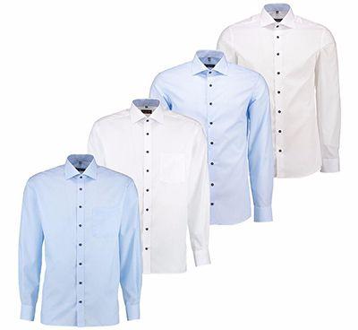 eterna hemden Eterna Herren Langarm Hemd (weiß) für nur 29,90€
