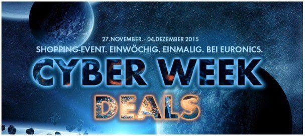 euronics  Euronics Cyber Week Deals u.a. mit GoPro Hero 3+  für 259€ (Vergleich: 269€)