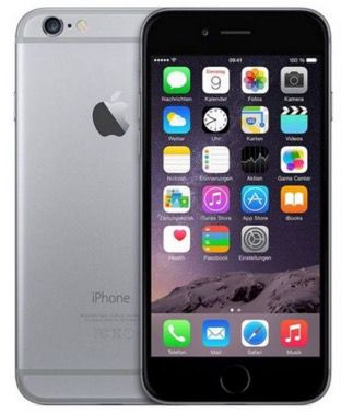 iPhone 6 mit 64GB iPhone 6 mit 64GB Spacegrau für 569,95€   Kundenretouren!