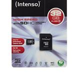 Intenso 32GB Micro SDHC Speicherkarte Class 10 Karte inkl. SDHC Card Adapter für 8,88€