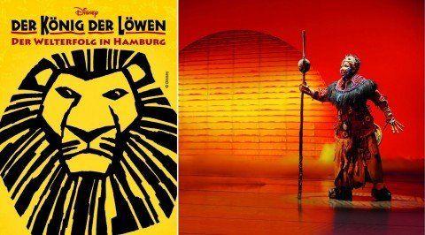 koenig der loewen König der Löwen Musical (PK 3) + Übernachtung im 3 Sterne Hotel ab 109€ p.P.