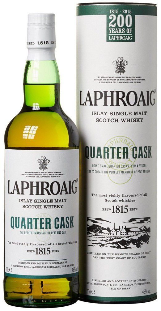 Laphroaig Quarter Cask Islay Single Malt Scotch Whisky für 28,99€